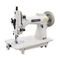 High speed computerized electronic light-medium-heavy material zigzag embroidery industrial sewing machine