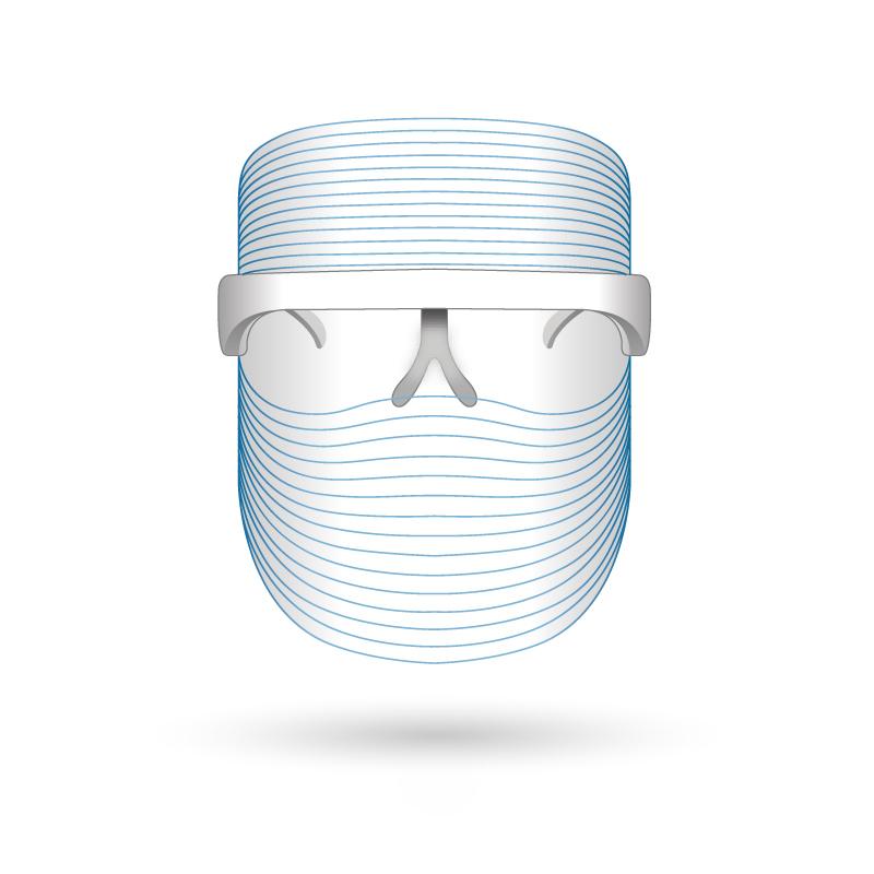 LED face mask Korea design for women skin care led mask therapy Infrared Light mask led face