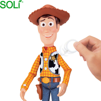Cartoon movie figure fiberglass Woody statue