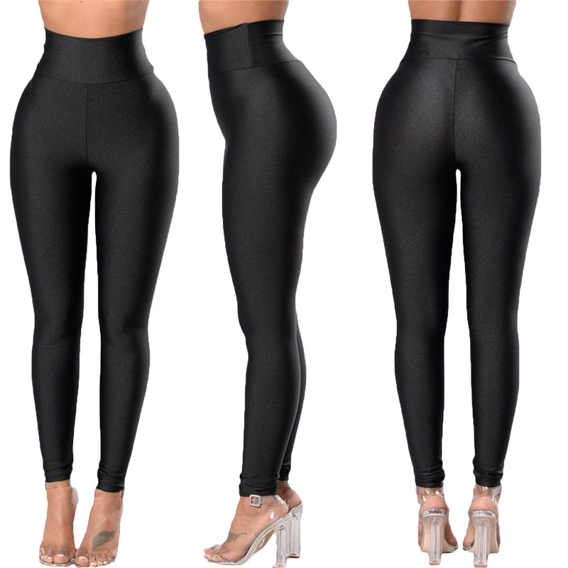 Women's Leggings Solid Workout Legging Fitness Sports Pants Athletic Female Pant Street wear