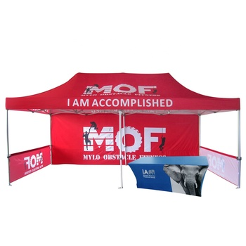 Weather Resistant Advertising Event Canopy  Hexagonal 50Mm Gazebo