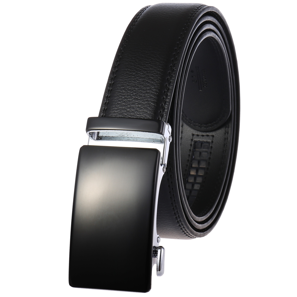Different styles and collocations of color automatic buckle beltLY36-8889-1