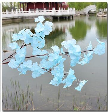 Artificial flowers cherry blossoms cheap silk sakura