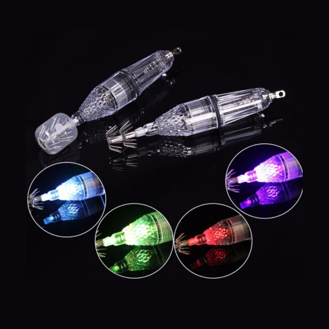 Fishing squid light LED deep drop underwater flashing lamp