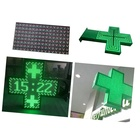 Wireless Control Flash Animated Gif Light Board Outdoor Green Display Led Pharmacy Cross Sign