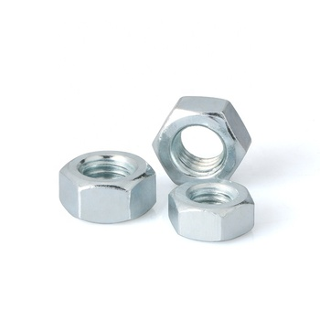 DIN 934 carbon steel furniture Hexagon bolt Nuts hex Nuts for steel building