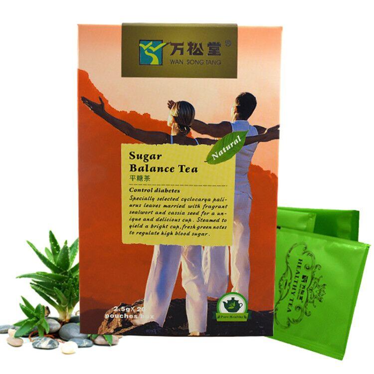 Hot selling Winton Herbal Diabetic Tea sugar balance health tea for Control and reducing high blood sugar - 4uTea   4uTea.com
