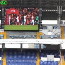 Outdoor-Led-Panels <span class=keywords><strong>P10</strong></span> Fußball Stadion Perimeter 960*960mm Werbung Screen Display Led Wand