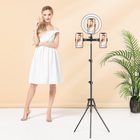 2020 Studio Video Makeup Smart photography selfie phone tiktok ring light tripod stand led circle ring light for girls