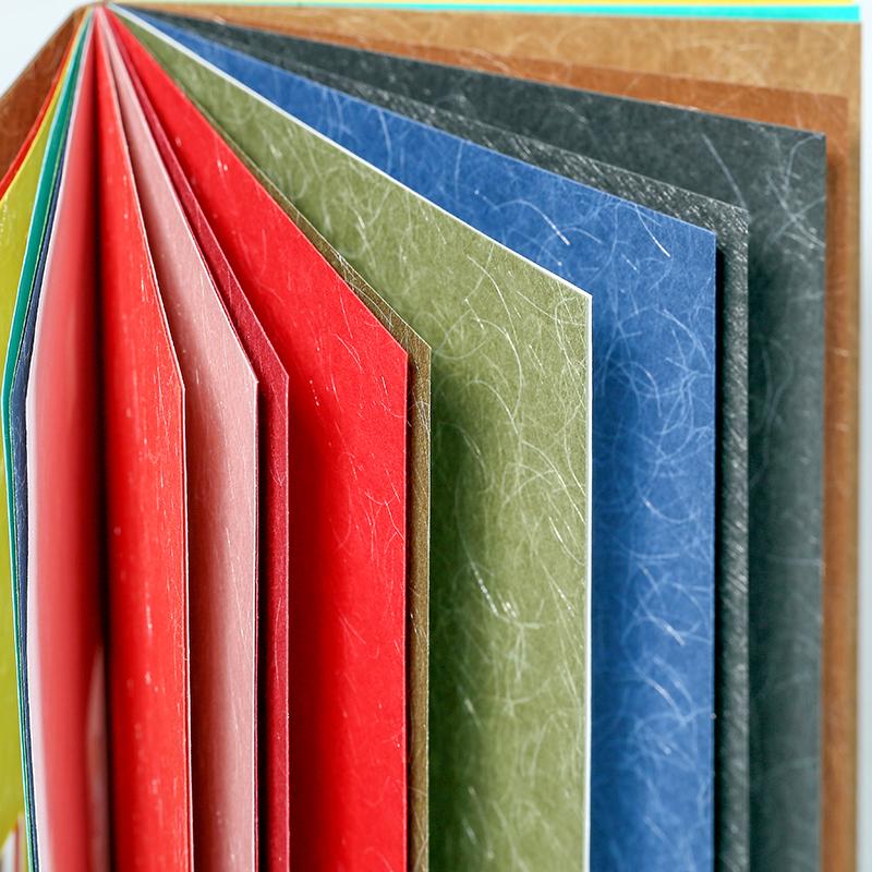 ลายนูนสมุดภาพสีกระดาษ 8 1/2x11 นิ้วสี Offset เป็นมิตรกับสิ่งแวดล้อมสีดำ