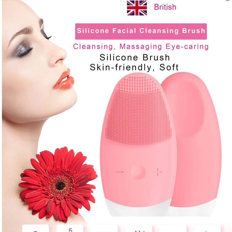 Face Cleansing Brush Electric Sonic Facial Cleansing Brush Powered Face Scrubber Brush