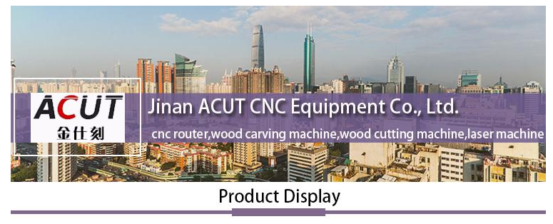 ACUT 1325 cnc machine of fool operation with three spindles