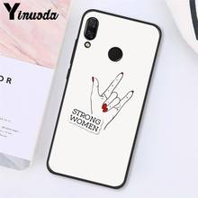 Yinuoda эстетика Минимальный «Girl power» и женских чехол для телефона для Xiaomi Redmi8 4X 6A S2 Go Redmi 5 5Plus Note8 Note5 7 Note8Pro(Китай)