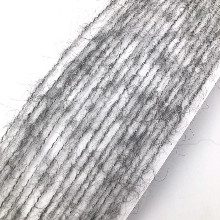 High Quality Wholesale Custom Cheap 1/5.5Nm Silk Wool Alpaca Yarn