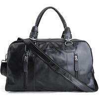 Carry On PU Leather Travel Duffle Bag Sports Style Custom Gym Bag Leather