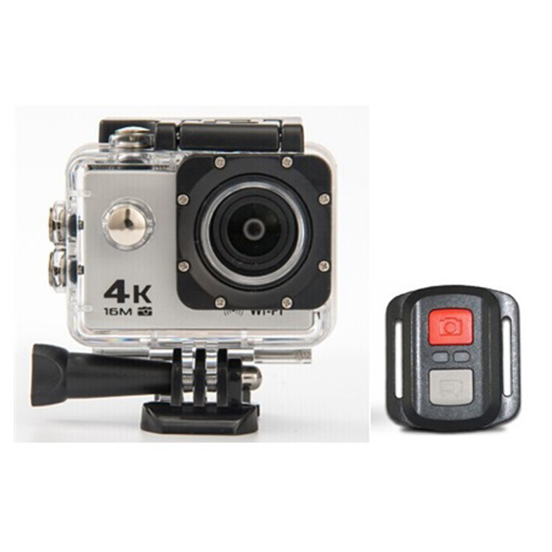 High Quality WiFi 4K Action Cam Sport Camera  For Motorcycle & Bicycle Helmet Camera with 2.4G Remote Control