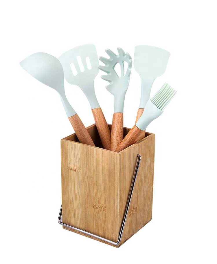 High Quality Bamboo Utensil Holder BH-18071003 Details