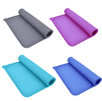 Amazon waterproof silicone pet food mat