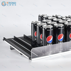 Supermarket Display Rack Equipment Shelf Gravity Feed Roller for Beer Beverage Cans