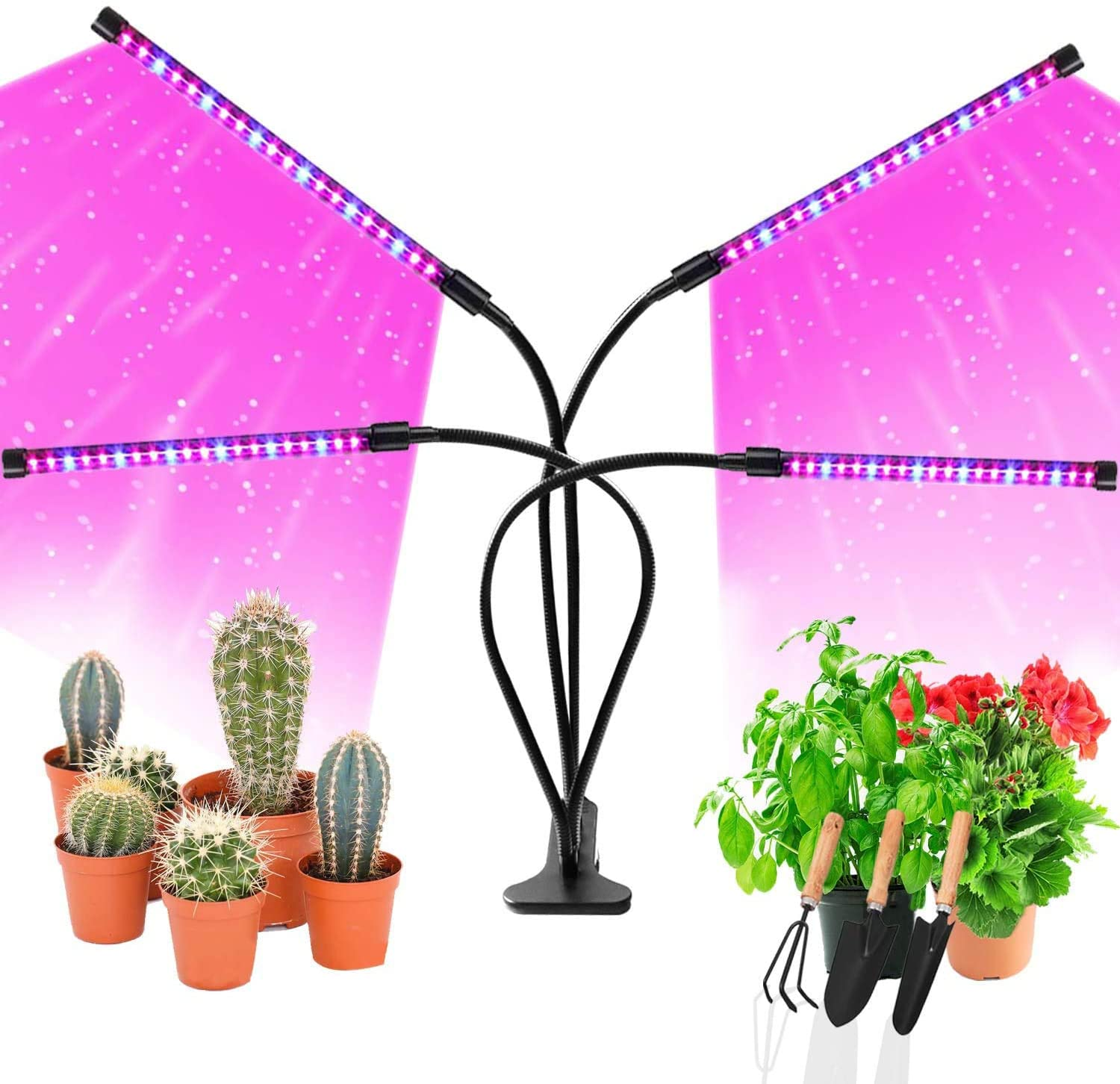 80w USB Flexible LED Plant Growth Light with Red Aquarium Hydroponic Plant Cultivation with Light