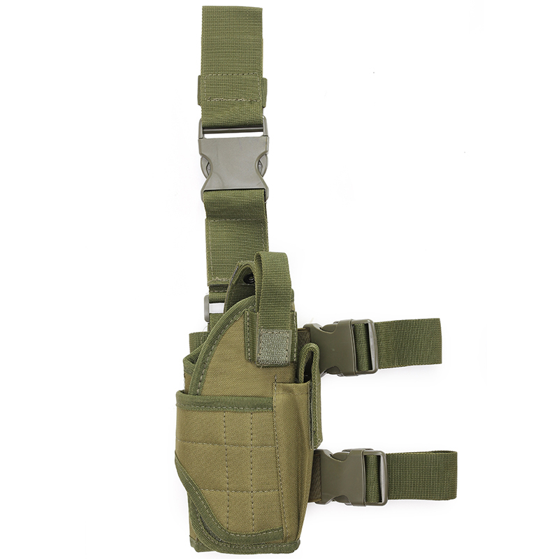 Easy To Use Gun <strong>Leg</strong> <strong>Holster</strong> Tactical Magazine <strong>Holster</strong> Gun <strong>Holster</strong> Concealed Tactical Military Equipment Black Custom Colors