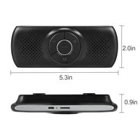 Multi-function Bluetooth Speakerphone Bluetooth 4.2 EDR Support for SIRI 3W Speaker Car Handsfree Kit MP3 Player Adapter