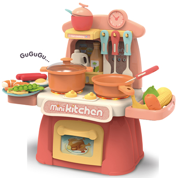 Hot Sell Cooking Games Kids Toy Kitchen Play Set Toys For Girls