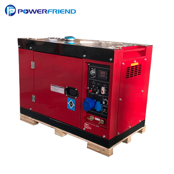 230a air cooled single phase super silent diesel welding generator sets 192FAE machine