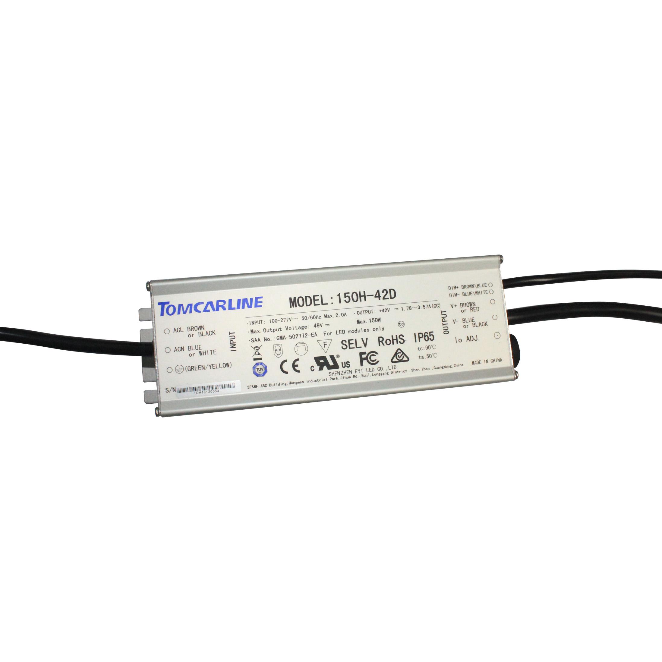 Transformateur dAlimentation de Dimmable 24V 120W PWM LED Conducteur de Dimmable Obscurcissant