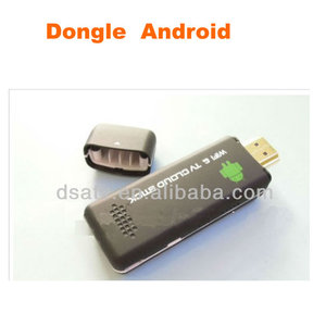 TV02 Android box cloud TV stick with CORTEX-A5 1.0Ghz CPU, WiFi/HD 1.4 interface/ Micro USB.