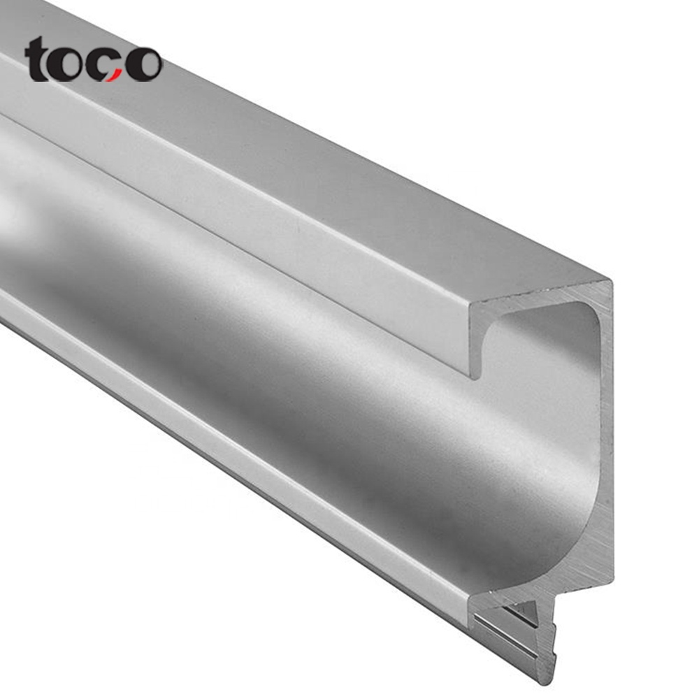 Aluminum sliding track South Asia style/kitchen cabinet door frame and <strong>handles</strong>