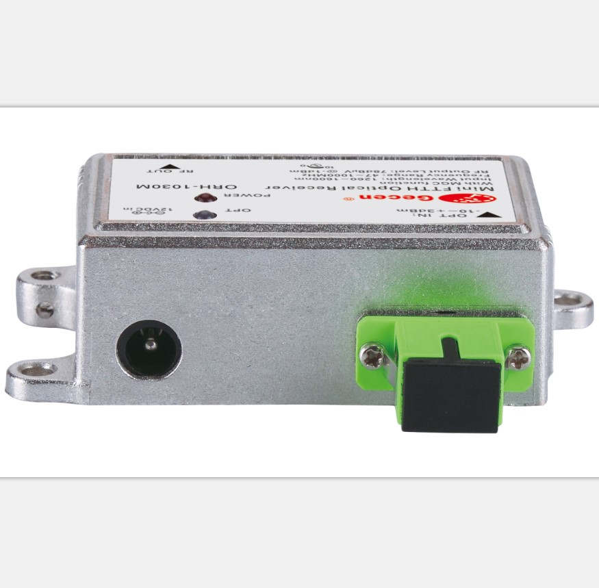 Gecen CATV 5-1000MHZ 1550nm FTTH Optical receiver Node with filter Model ORH-1030F