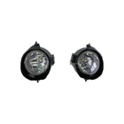 Factory price auto car halogen round yellow front fog lamp for isuzu dmax 2017