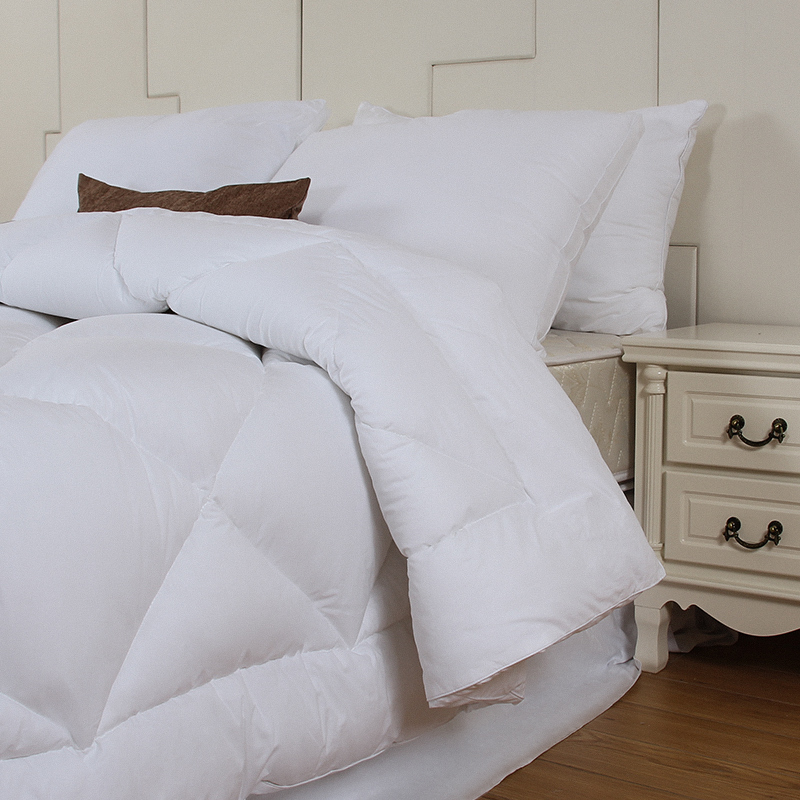 Wholesale Home Bedding Polyester Queen Size White Cotton Quilts beddings-quilt/ duvet