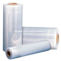 LLDPE Transparent Plastic Stretch Film For Packaging
