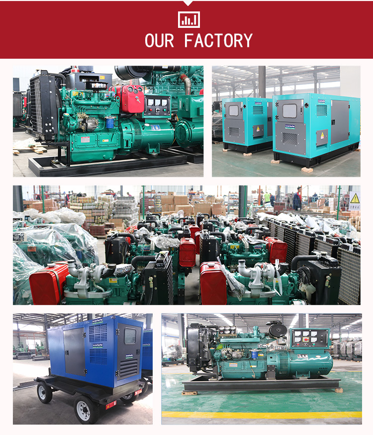 Motor diésel para generador de diésel, bajo precio, Wiefang, Ricardo, 41kw, 55hp, 4 cilindros, 40kW