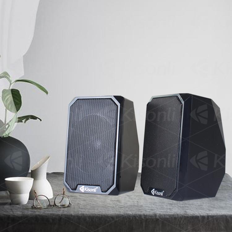 Kisonli good quality music active plastic speaker