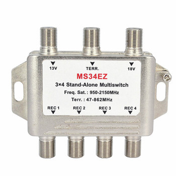 2 in 6 out 950-2200MHz diseqc multi-switch for satellite receiver
