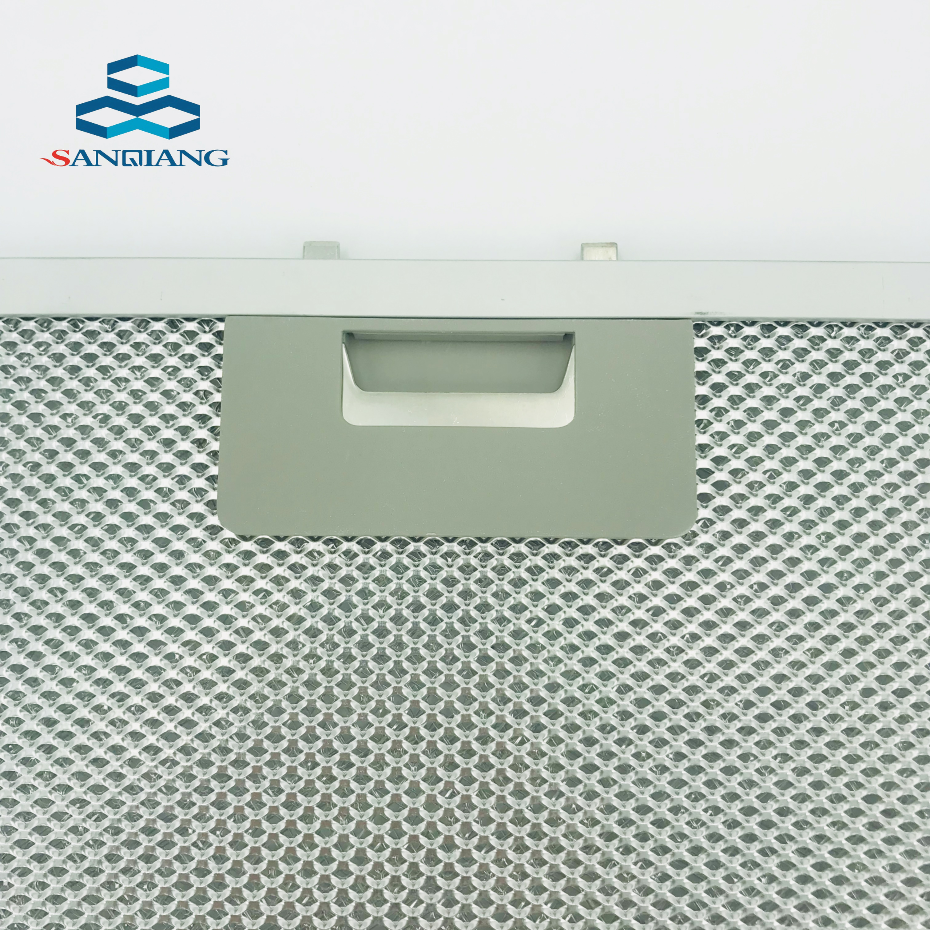 Anodized Kitchen Cooker Hood Filter Aluminium Mesh Grease Filter