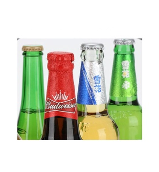 Customize foil for beer bottle neck foils printed beer bottle neck wrapping label foils with embossing