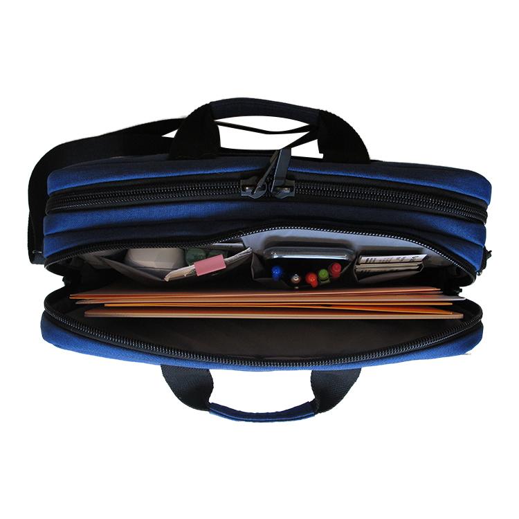 Eco-friendly laptop shoulder bag,lightweight laptop bag with strap