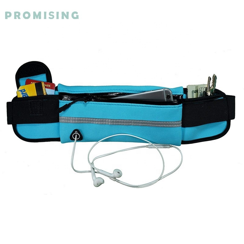 Wholesale best running belt uk Water Resistant Runners Belt Fanny Pack