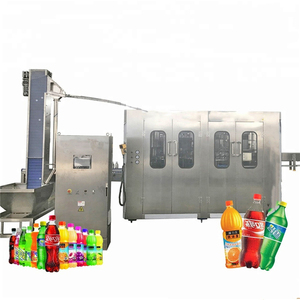 AUTO Carbonated beverages Production Line in China