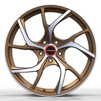 Kipardo 2019 new designed 18x8 5x100 5x112 5x120 car alloy wheels rims with JWL VIA