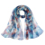 High Quality Polyester Georgette Chiffon Long Scarf Floral Ladies Print Scarves