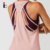 New Fashion Women Back Strap Workout Gym Tank Top