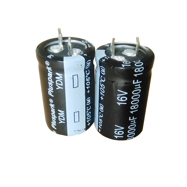 5x 390uF 450V Radial Snap In Mount Electrolytic Aluminum Capacitor 85C 450VDC