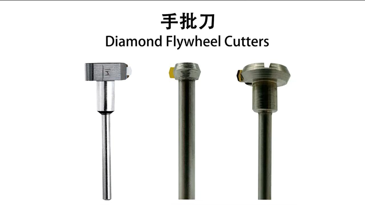 Sieraden Diamond Tool Gem Setting Tool Aangepaste Posalux Concave Platte Cutter Voor Slijpen Machine
