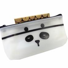 1 шт./лот черный и белый школьный пенал сумка школьные принадлежности корейские школьные канцелярские принадлежности(Китай)