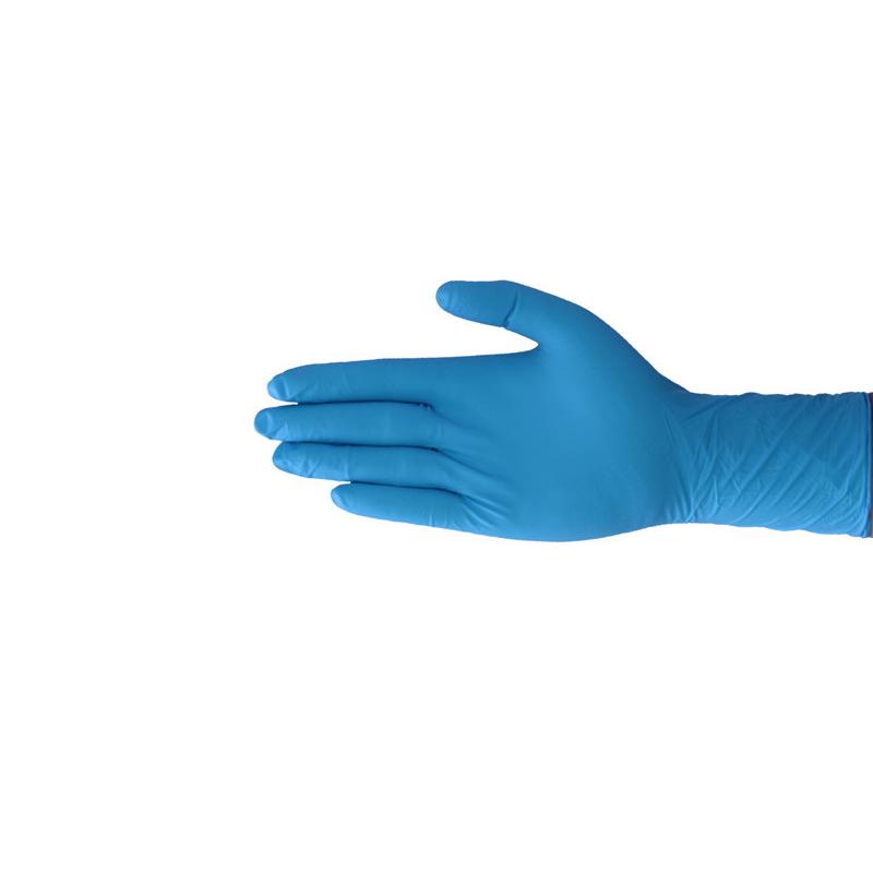 Disposable Non-Slip Hemp Finger Nitrile Rubber Gloves